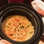 84827594 - 由比産!桜えびの土鍋炊きご飯