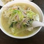84828526 - 【タンメン(野菜たっぷり太麺)…648円】♫2018/4
