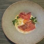 レストラン ピウ - 冷製カルボナーラ