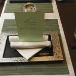 レストラン ピウ - テーブルセッティング