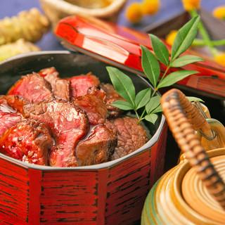 おすすめ料理『和牛のひつまぶし膳』2580円(税抜)