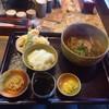 手打ちそばと朝宮茶の店 黒田園 - 料理写真:海老天セット