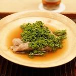 緒方 - ☆花山椒と出汁にくぐらせたしゃぶしゃぶ肉