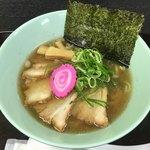 ラーメン ツバメ - 「肉煮干し中華そば 正油」918円(横浜タカシマヤ「大北海道展」)