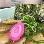 ラーメン ツバメ - ナルト、青ネギ、海苔(横浜タカシマヤ「大北海道展」)