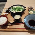 林屋茶園 - 白ごま豆乳鍋1080円