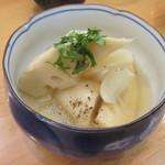 84836186 - 「京筍と里芋の銀あん」