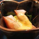 すし芳 - 料理写真:蛍烏賊の酢味噌和え