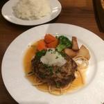 ビヤレストラン 銀座ライオン - ハンバーグランチ