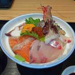 旬菜鮮たつみ - 海鮮丼(上)1500円