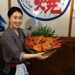 あぶりや - 2018年4月22日、今日のあぶりや男気タイムは「蟹」!!ズワイカニ食べ放題です!