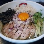 らぁ麺 きくはん - 【とりとんまぜそば】¥750