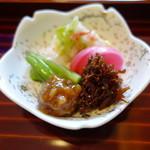 京料理屋 嵐山さくら - 香の物