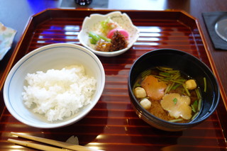京料理屋 嵐山さくら - ご飯