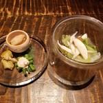 Shunjuuyurari - 前菜の二階建て 4種盛り