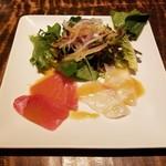 Shunjuuyurari - 旬魚のカルパッチョ