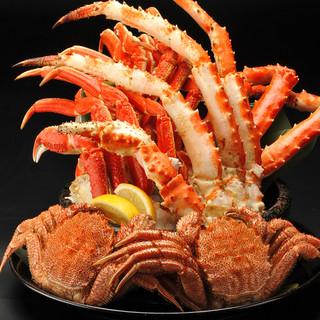 北海道観光のお食事に「三大蟹」食べ尽くしプラン各種