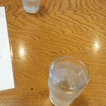 蒲田温泉 - お冷やを出してもらえました