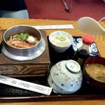 蒲田温泉 - そして今回もっともお目当ての品「かに釜飯」