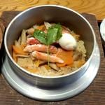 蒲田温泉 - 本格的な釜飯が味わえます