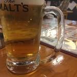 84844250 - 生ビール(サントリーモルツ)
