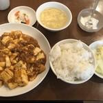 天福分 - 麻婆豆腐定食@850円