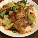 天福分 - ランチ友の今週の定食は、回鍋肉
