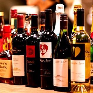ワインを熟知したスタッフがピッタリの一杯をお選びします。