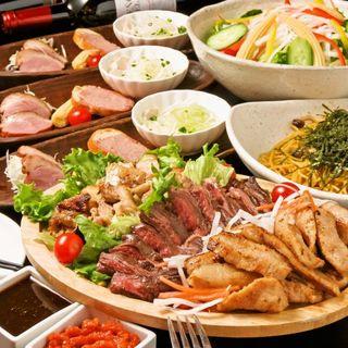 人気メニューを楽しめる、2h食べ飲み放題コース4,000円~