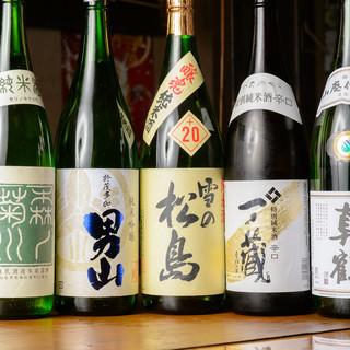 ◇日本酒・焼酎◇お酒に精通した店主厳選!料理に合う銘酒を堪能