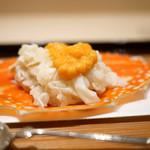 紀茂登 - 先付 渡り蟹の御飯