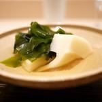 紀茂登 - 筍と若芽の炊合