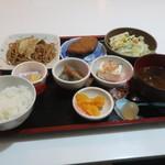 朱里 - 料理写真:モーニング(焼きそば)