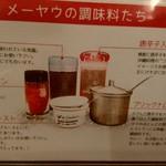 メーヤウ - 調味料の説明