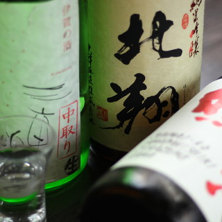 魚介の旨さを引き立てる、選ばれし珠玉の【日本酒】コレクション