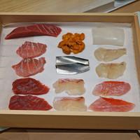 三谷 - 料理写真:今日の鮨の種