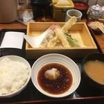 丸の内天ぷらめし 下の一色 - 地物てんぷら飯