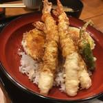 丸の内天ぷらめし 下の一色 - 10食限定ランチ天丼