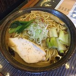 創作麺処 麺ソウル ラボ - 冬季限定「焦がしねぎ香る味噌らーめん」