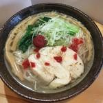 創作麺処 麺ソウル ラボ - 3月限定「梅潮らーめん」