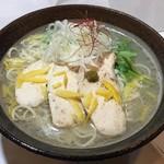 創作麺処 麺ソウル ラボ - 1月限定「柚子潮らーめん」