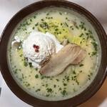 創作麺処 麺ソウル ラボ - 12月限定「クリーミー雪見潮らーめん」