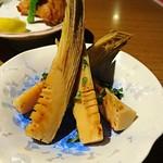 炙谷 - 焼竹の子     ¥580