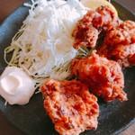 蔵出し味噌 麺場壱歩 - 味噌唐揚げ 4個 420円