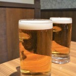 個室 肉バル マーケットグリル - 生ビール