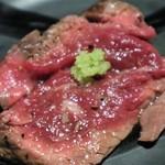 個室 肉バル マーケットグリル - 一頭の牛からわずかしか取れない最高級のお肉