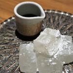 個室 肉バル マーケットグリル - デザート  SEA SOLT わらびもち