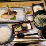 新潟 食楽園 - 本日の焼き魚定食