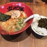 ラー麺 ずんどう屋 - 合計で950円(税込)