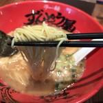 ラー麺 ずんどう屋 - 細麺を選択